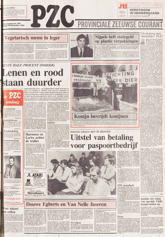 Provinciale Zeeuwse Courant 1988-12-16