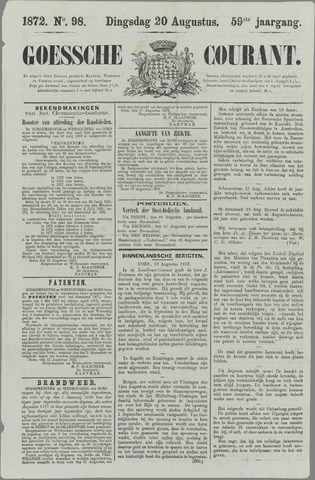 Goessche Courant 1872-08-20