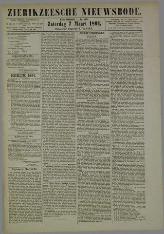 Zierikzeesche Nieuwsbode 1891-03-07