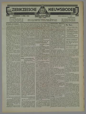 Zierikzeesche Nieuwsbode 1941-04-02