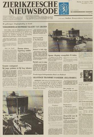Zierikzeesche Nieuwsbode 1973-08-14