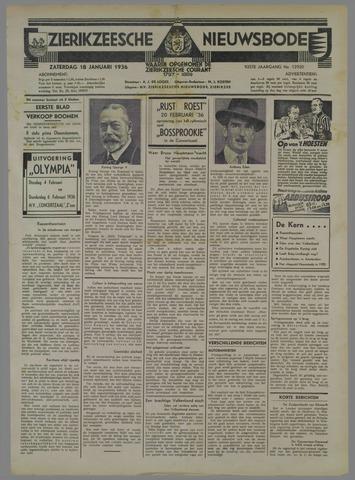 Zierikzeesche Nieuwsbode 1936-01-18