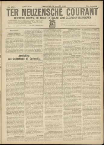 Ter Neuzensche Courant. Algemeen Nieuws- en Advertentieblad voor Zeeuwsch-Vlaanderen / Neuzensche Courant ... (idem) / (Algemeen) nieuws en advertentieblad voor Zeeuwsch-Vlaanderen 1938-03-14