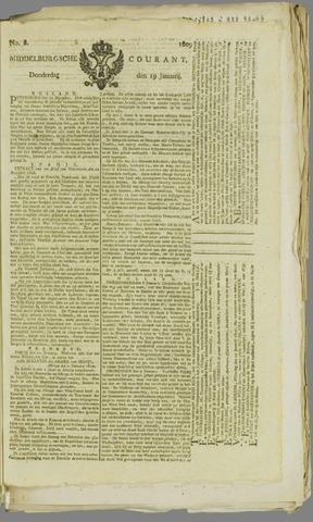 Middelburgsche Courant 1809-01-19