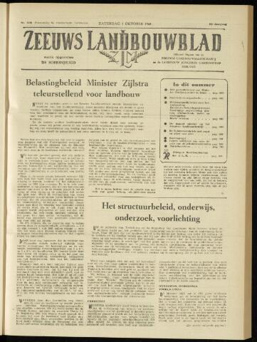 Zeeuwsch landbouwblad ... ZLM land- en tuinbouwblad 1960-10-01