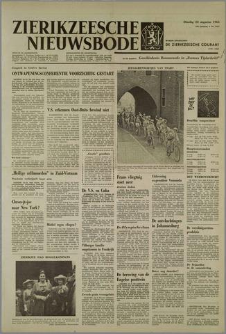 Zierikzeesche Nieuwsbode 1963-08-13