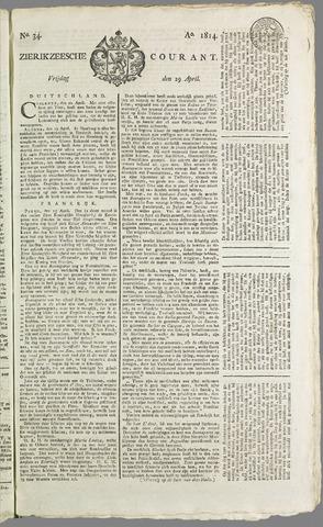 Zierikzeesche Courant 1814-04-29