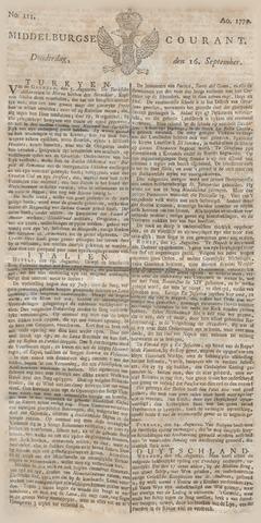 Middelburgsche Courant 1779-09-16