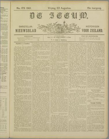 De Zeeuw. Christelijk-historisch nieuwsblad voor Zeeland 1901-08-23