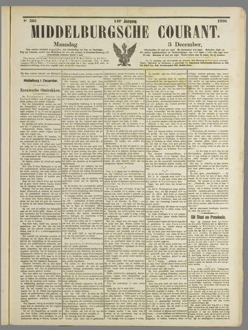 Middelburgsche Courant 1906-12-03