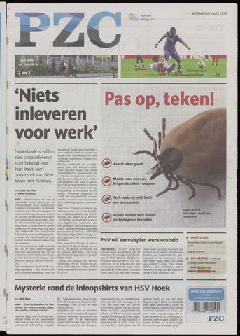 Provinciale Zeeuwse Courant 2014-04-09
