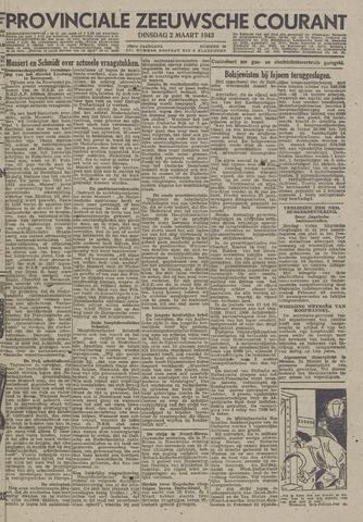 Provinciale Zeeuwse Courant 1943-03-02