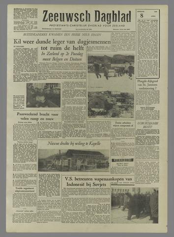 Zeeuwsch Dagblad 1958-04-08