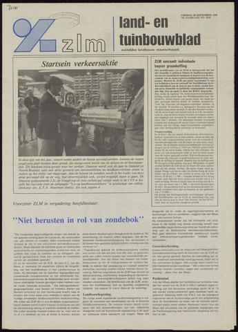 Zeeuwsch landbouwblad ... ZLM land- en tuinbouwblad 1990-09-28