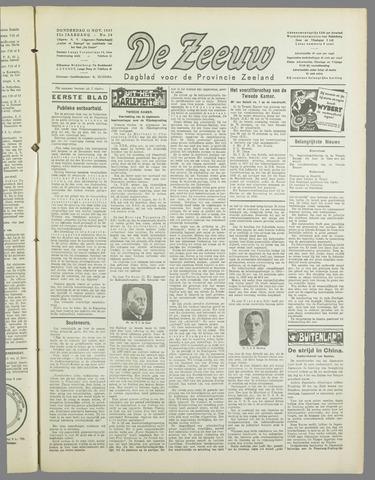 De Zeeuw. Christelijk-historisch nieuwsblad voor Zeeland 1937-11-11