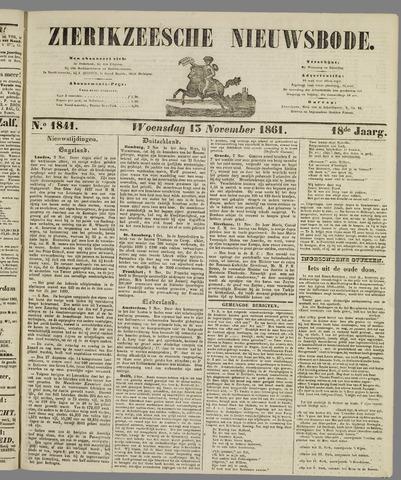 Zierikzeesche Nieuwsbode 1861-11-13