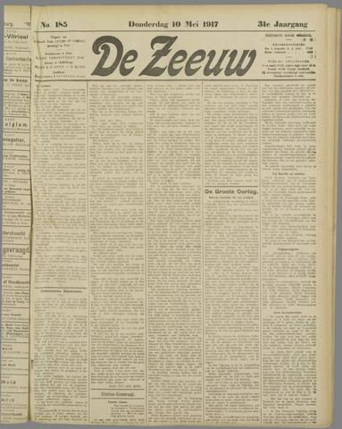 De Zeeuw. Christelijk-historisch nieuwsblad voor Zeeland 1917-05-10