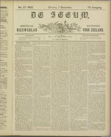 De Zeeuw. Christelijk-historisch nieuwsblad voor Zeeland 1902-12-02