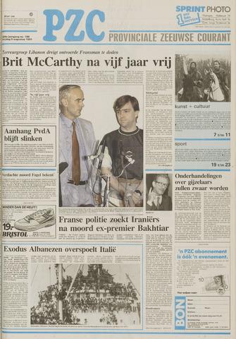 Provinciale Zeeuwse Courant 1991-08-09