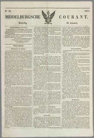 Middelburgsche Courant 1871-01-30