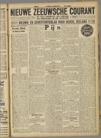 Nieuwe Zeeuwsche Courant 1924-01-19