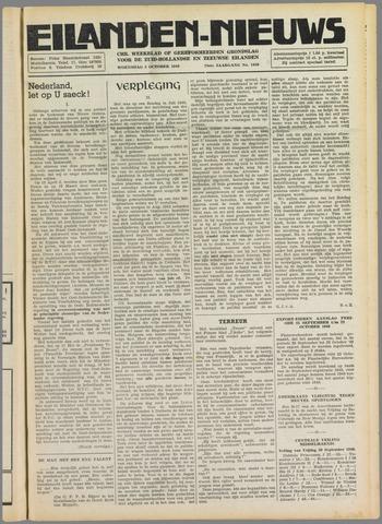 Eilanden-nieuws. Christelijk streekblad op gereformeerde grondslag 1949-10-05
