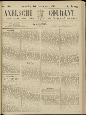 Axelsche Courant 1892-12-10