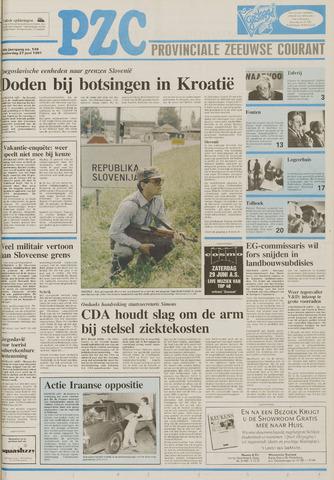 Provinciale Zeeuwse Courant 1991-06-27