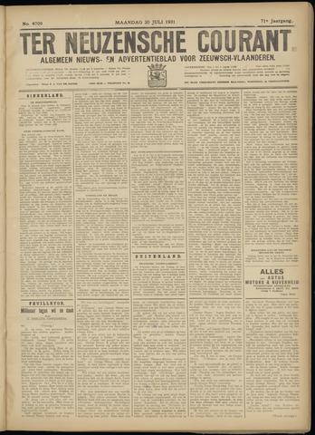 Ter Neuzensche Courant. Algemeen Nieuws- en Advertentieblad voor Zeeuwsch-Vlaanderen / Neuzensche Courant ... (idem) / (Algemeen) nieuws en advertentieblad voor Zeeuwsch-Vlaanderen 1931-07-20
