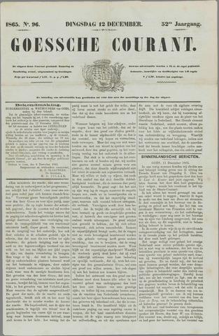 Goessche Courant 1865-12-12