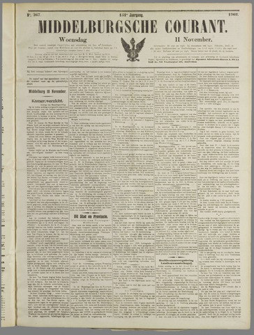 Middelburgsche Courant 1908-11-11
