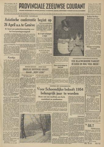 Provinciale Zeeuwse Courant 1954-02-19