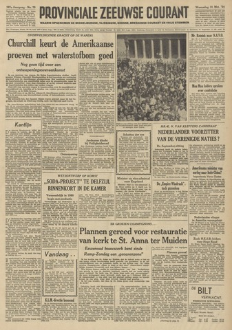 Provinciale Zeeuwse Courant 1954-03-31