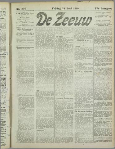 De Zeeuw. Christelijk-historisch nieuwsblad voor Zeeland 1918-06-28