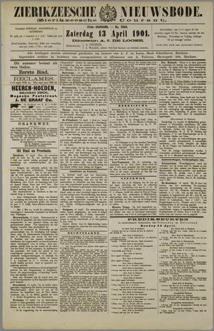 Zierikzeesche Nieuwsbode 1901-04-13
