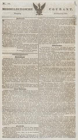 Middelburgsche Courant 1834-02-18