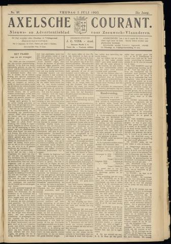 Axelsche Courant 1935-07-05