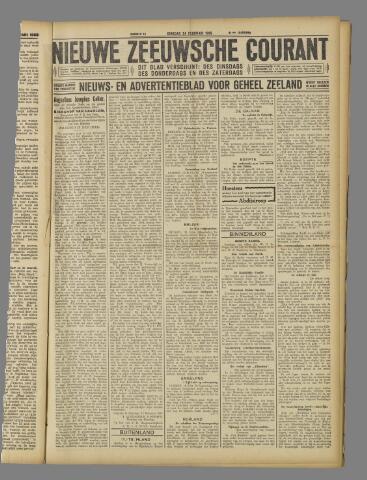 Nieuwe Zeeuwsche Courant 1925-02-24