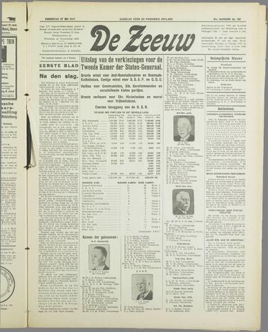 De Zeeuw. Christelijk-historisch nieuwsblad voor Zeeland 1937-05-27