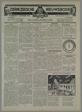 Zierikzeesche Nieuwsbode 1937-11-11