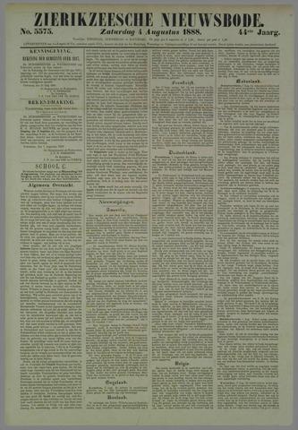 Zierikzeesche Nieuwsbode 1888-08-04