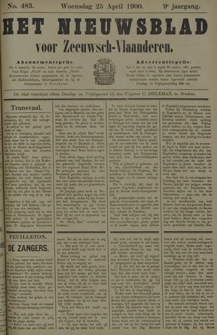 Nieuwsblad voor Zeeuwsch-Vlaanderen 1900-04-25