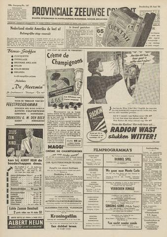 Provinciale Zeeuwse Courant 1953-06-25
