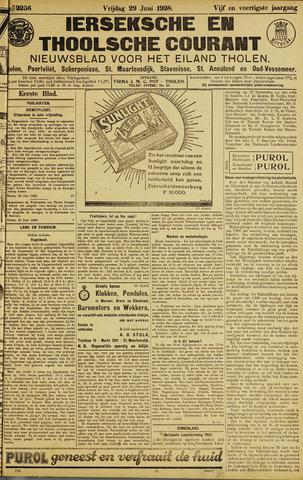 Ierseksche en Thoolsche Courant 1928-06-29