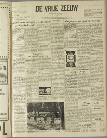 de Vrije Zeeuw 1961-09-25