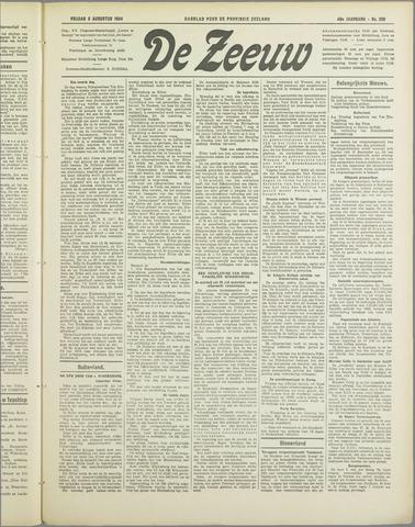 De Zeeuw. Christelijk-historisch nieuwsblad voor Zeeland 1934-08-03
