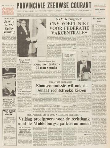 Provinciale Zeeuwse Courant 1971-03-30