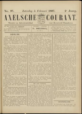 Axelsche Courant 1887-02-05