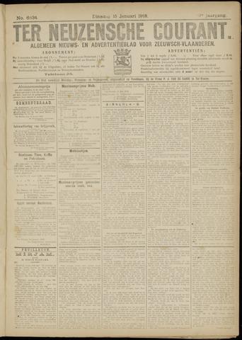 Ter Neuzensche Courant. Algemeen Nieuws- en Advertentieblad voor Zeeuwsch-Vlaanderen / Neuzensche Courant ... (idem) / (Algemeen) nieuws en advertentieblad voor Zeeuwsch-Vlaanderen 1918-01-15