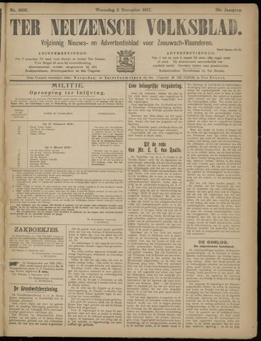Ter Neuzensch Volksblad. Vrijzinnig nieuws- en advertentieblad voor Zeeuwsch- Vlaanderen / Zeeuwsch Nieuwsblad. Nieuws- en advertentieblad voor Zeeland 1917-12-05